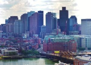 Boston, met uitzicht op Little Italy