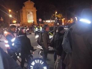 Piazza Trilussa is haast onherkenbaar vanwege de 007-gekte.