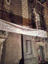 Studentenconcert in het Klooster der Benedictijner Monniken van Catania.