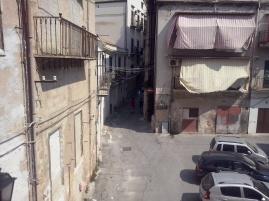 Het historisch centrum van Palermo.