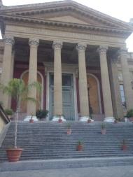 Teatro Massimo, belangrijk decor in 'The Godfather - Part III'.