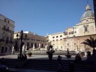 Piazza Pretoria, Palermo.