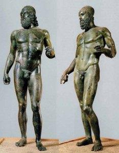 De Bronzen van Riace.