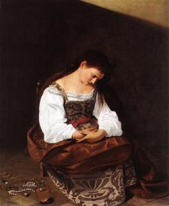 Maria Magdalena door Caravaggio