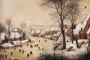 Winterlandschap van Brueghel