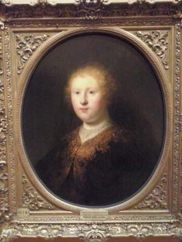 De zus van Rembrandt van Rijn, Pinacoteca di Brera.