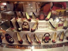 Dat Milaan dé modestad is bewijst deze chocolaterie.