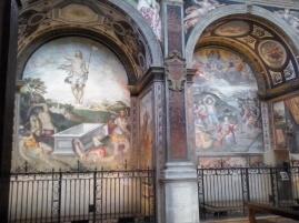 De 'Sixtijnse Kapel' van Milaan: de kerk van Sint Mauritius.
