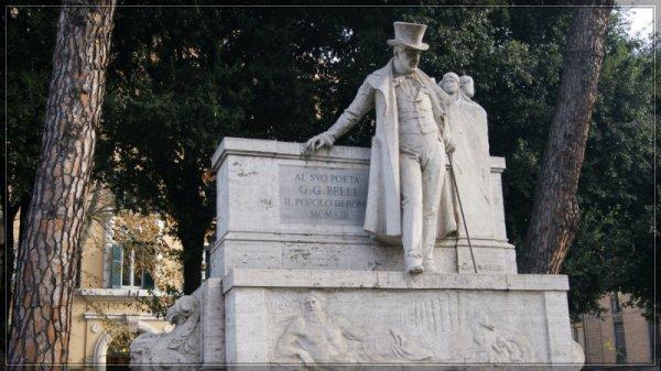 Gioachino Belli, Piazza Belli, Trastevere