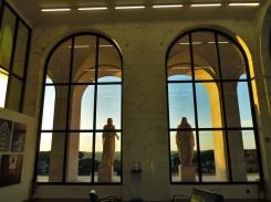 Il Palazzo della Civiltà Italiana van binnenuit gezien