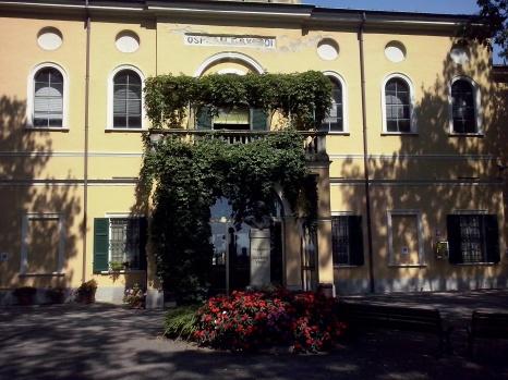 Het ziekenhuis dat Verdi bouwde.