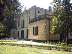 Villa Sant'Agata, tegenwoordig Villa Verdi genoemd.
