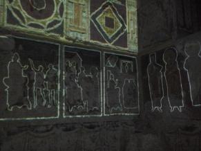 Honderden vierkante meters aan fresco's...