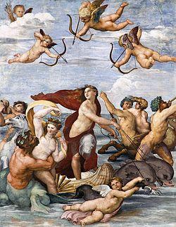 Galatea - volgens Raffaello Sanzio