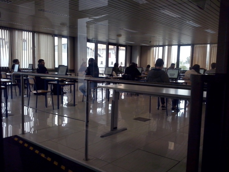 De examenzaal
