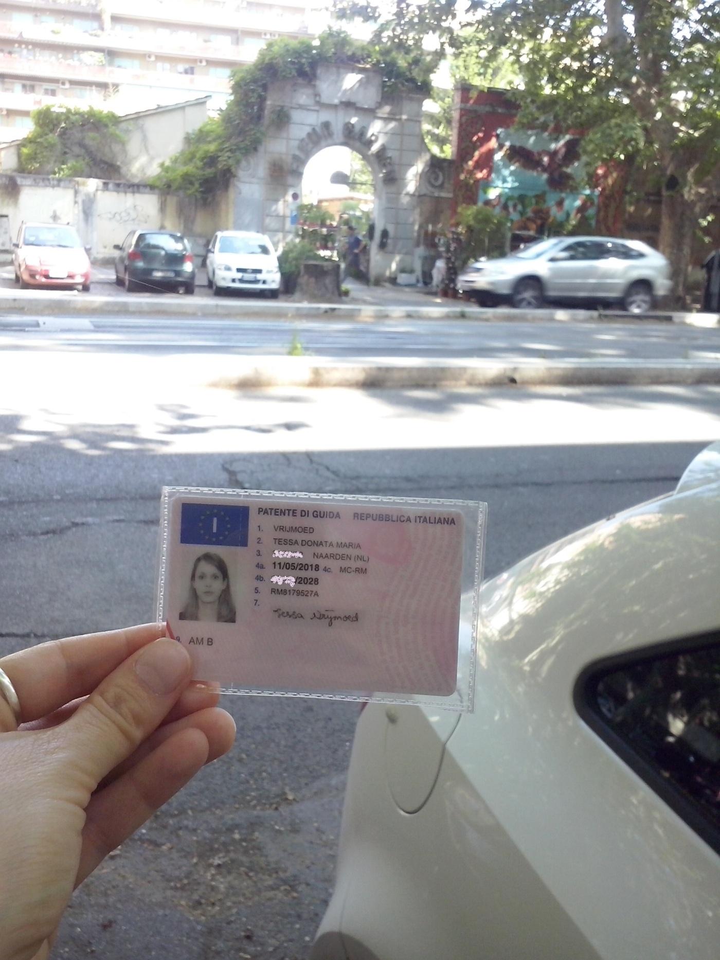 Rijbewijs gehaald!