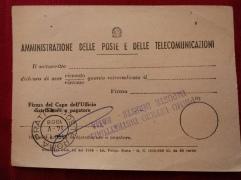 Post van het postkantoor.