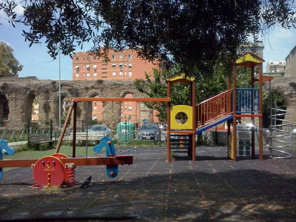 Parco Giordano Sangalli: speeltuin in bijzondere setting