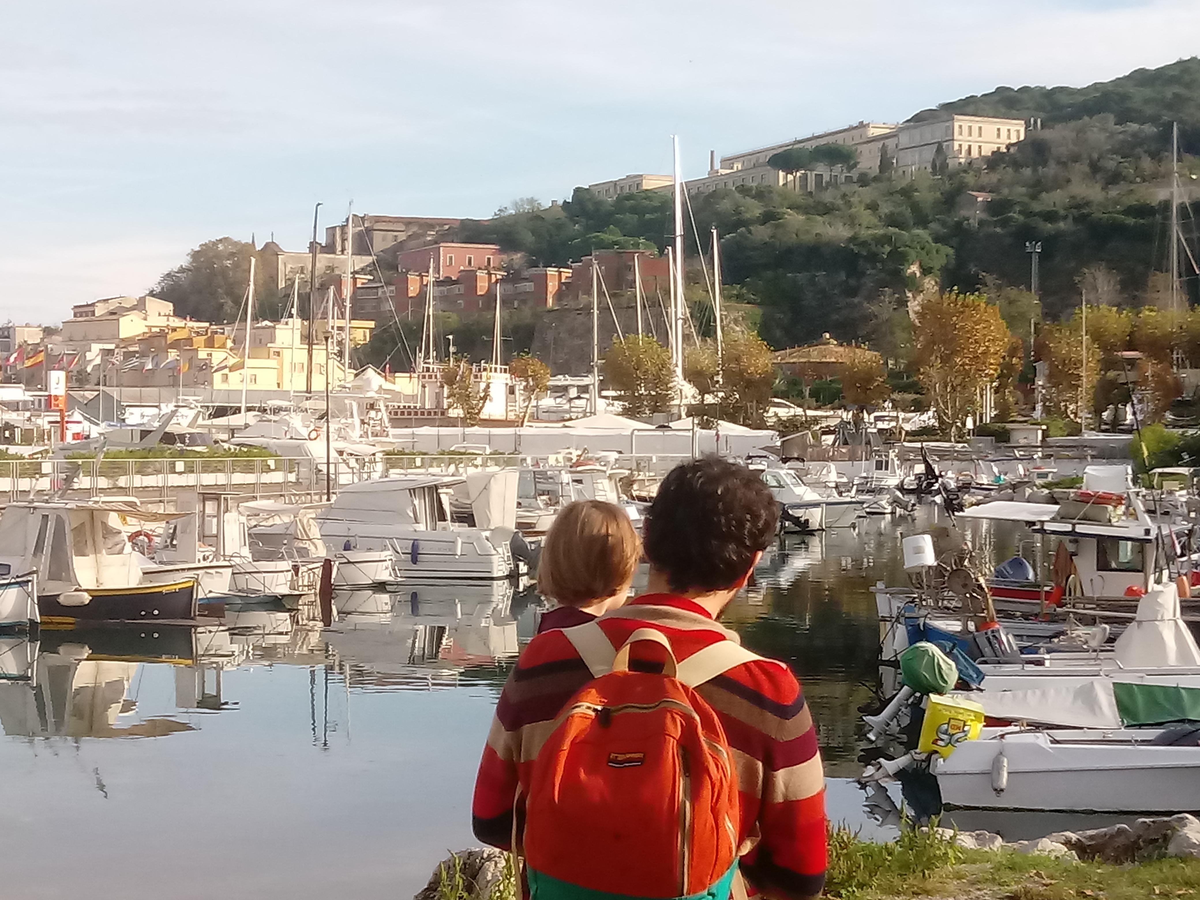 De haven van Gaeta